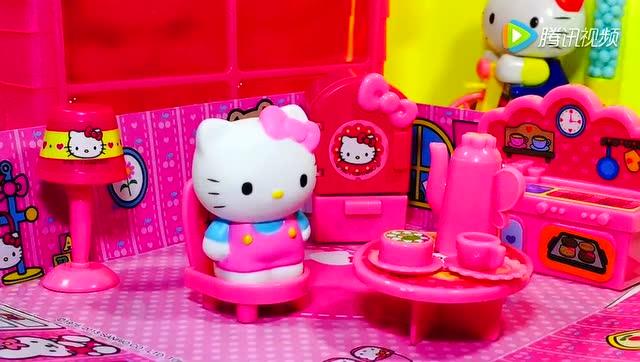 凯蒂猫hello kitty的可爱粉色房子