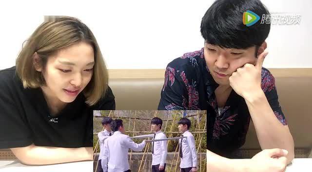 【韩国东东】韩国人看《青云志》主题曲张杰《