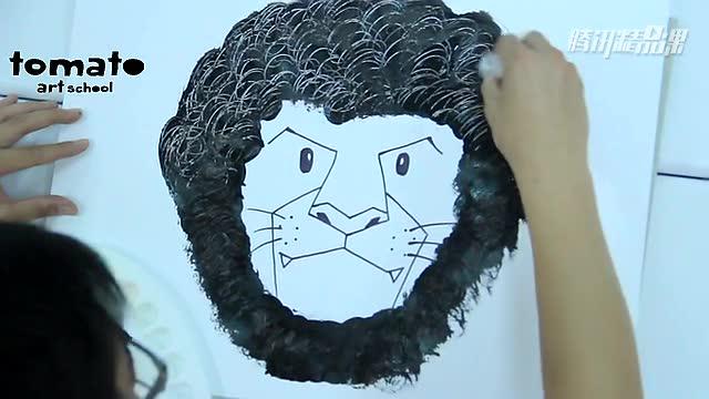 爆炸头狮子王