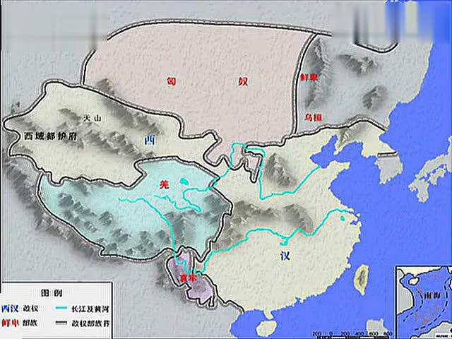 中国历史地图变迁改革