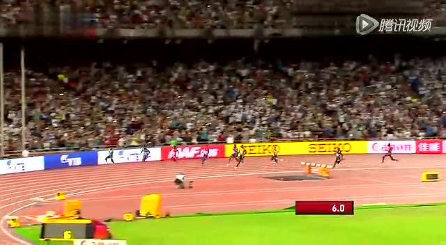 男子200米预赛 博尔特如漫步仍夺小组第一截图