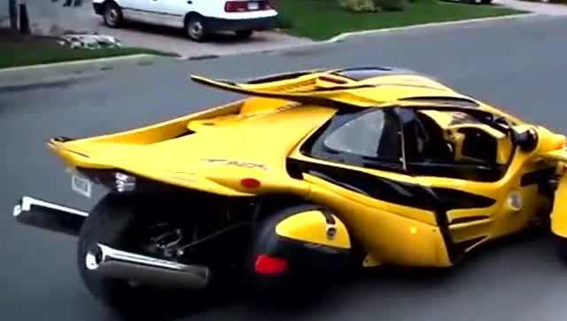 摩托车跑车,速度可比布加迪威龙一样快!