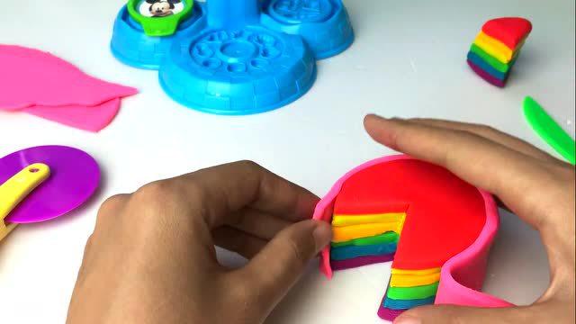 粉红猪水果小妹彩泥野餐小猪佩奇v水果玩具面理发视频薄打图片