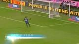 进球视频:卡萨诺转身抽射 皮球反弹诡异入网