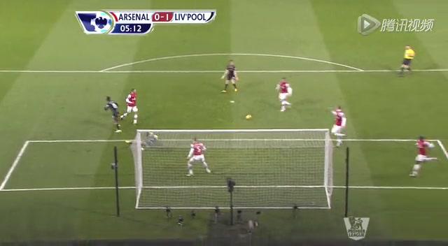 全场集锦:3分钟连扳2球 阿森纳2-2逼平利物浦截图