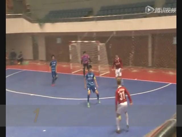 视频:成都蓉超上半赛程进球集 郑涛吊射破门