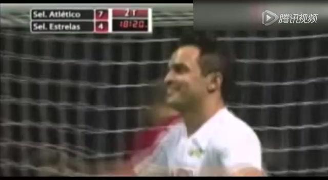 视频:球王法尔考破门 神级任意球超乎想象力
