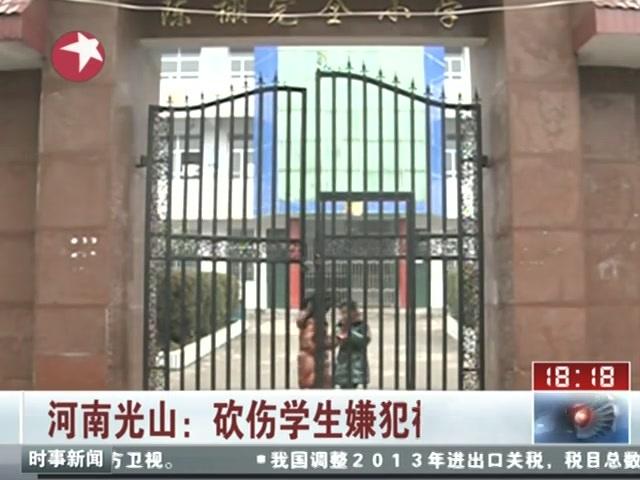河南砍伤学生嫌犯被批捕 警方称其受末日谣言影响截图