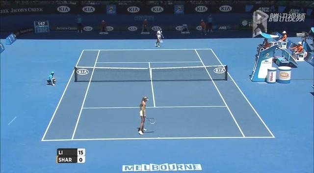 澳网第11日李娜VS莎娃 李娜首盘第一局强势破发截图