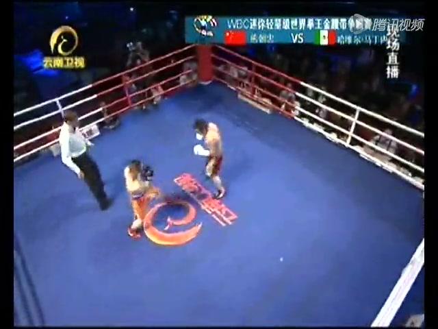 熊朝忠成中国首位世界职业拳王