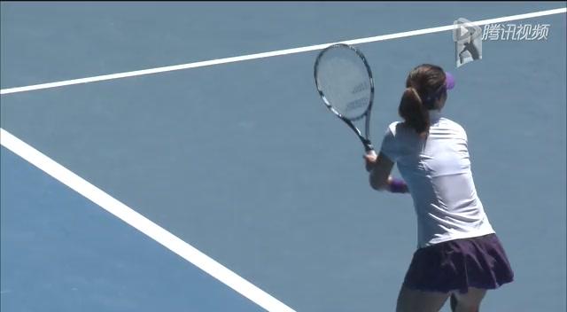 澳网第11比赛日李娜2-0莎娃 李娜个人集锦截图