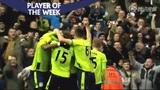 视频:英超17轮最佳队员 本特克两球攻陷红军