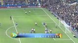 进球视频:奥斯卡禁区外起球 特里头球破网