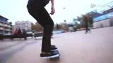 街头高难度滑板集锦 摔出来的滑板大师