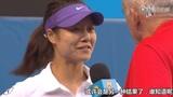 澳网第七日李娜取胜晋级八强 赛后现场采访