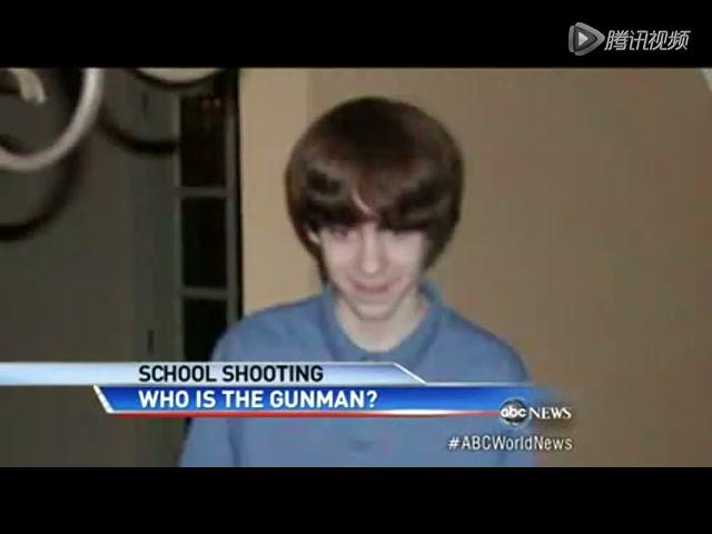 美国小学枪击案嫌疑人照片曝光截图