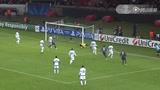 A组巴黎2-1波尔图 第61分钟:拉维奇抽射破门