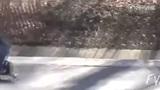 悲催的滑板失误升级版 比上次摔得更惨烈