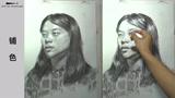 第九十五集 朱传奇女青年素描头像示范完全版 (61播放)