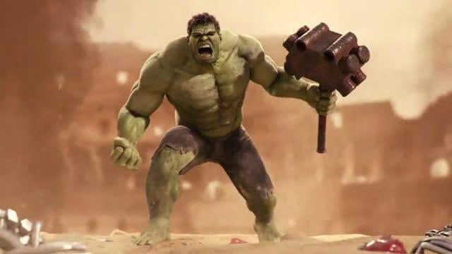 钢铁侠与绿巨人原来还有另外一部,特效不输电影版