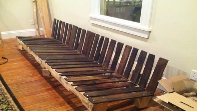 家艺术:各种用木头拼接出来的家具