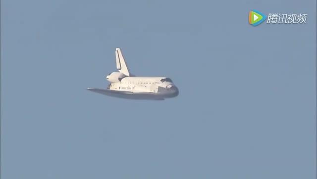 哥伦比亚号航天飞机 返回地球全过程!