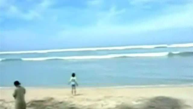 日本福岛地震引发海啸
