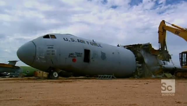 废弃的飞机到底是如何处理的?