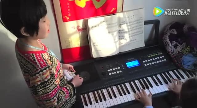 《小红帽》电子琴弹奏