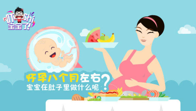 三维科普:31周的宝宝成长状况