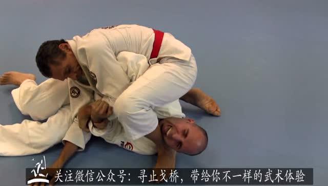 巴西柔术白色练习者腰带挑战大师格雷西