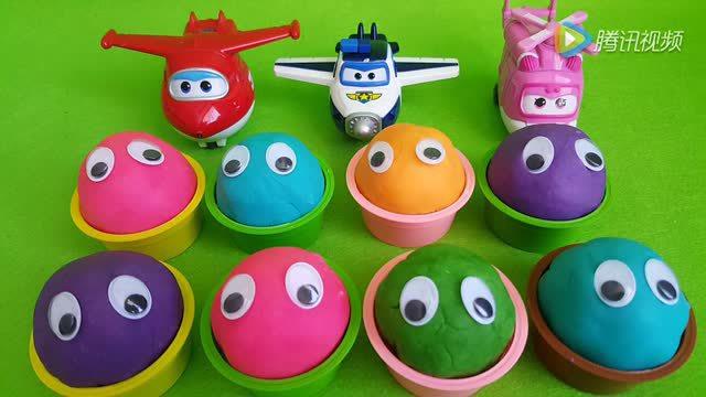 超级飞侠培培乐黏土惊喜奇趣蛋玩具总动员过家家