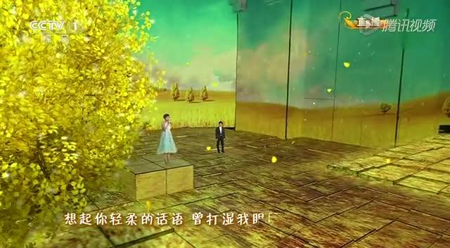 """央视春晚:""""嬛嬛""""孙俪携手李健《风吹麦浪》"""