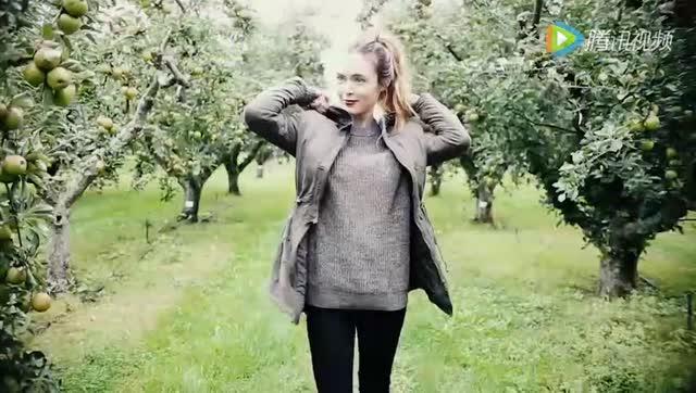 小个子女生秋冬季穿衣搭配 时尚达人示范矮个子怎么穿衣显高图片