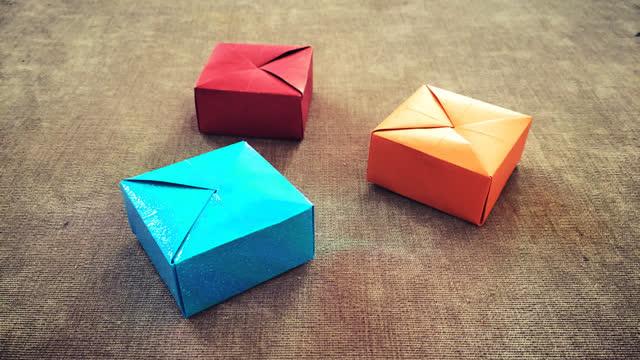 亲子趣味手工 漂亮的立体小房子 仅用一张纸就可以做出来