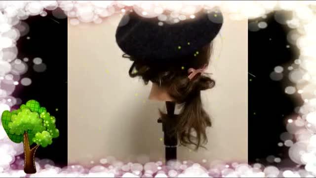 简单编发发型步骤 编出花朵小女人 公主头扎法