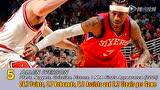 艾弗森马龙巴克利领衔 NBA史上十大无冕之王头像