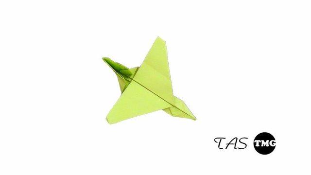 淘趣工坊折纸教程 纸飞机哦