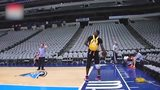 NBA球员花式投篮集合 马努脚球空心库里魔兽全场三分头像