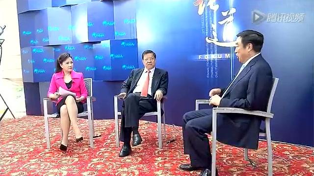 《论道》20140512期:马蔚华的企业观与人生观
