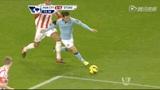 进球视频:席尔瓦造争议点球 阿奎罗一蹴而就