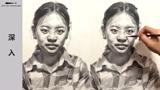 朱传奇女青年素描头像示范完全版 (169播放)