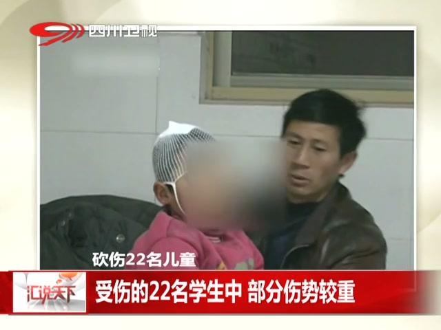 河南光山 22名儿童在校被男子砍伤截图