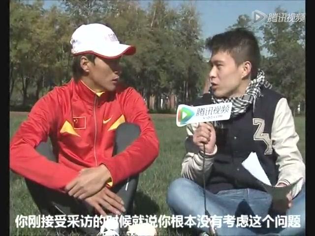 视频:专访陈定 未来有希望破世界纪录