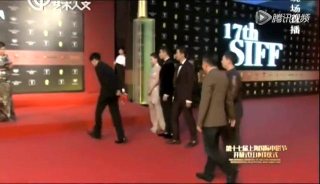"""组图:《绣春刀》发布会 张震李东学""""兄弟情"""""""