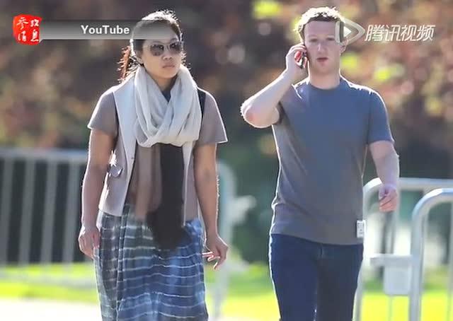 扎克伯格在女儿出生之际捐450亿美元Facebook股票截图