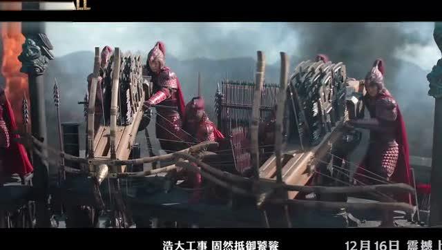 鹿晗 电影《长城》无影禁军特辑