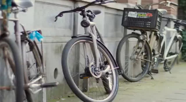 谷歌黑科技无人自行车