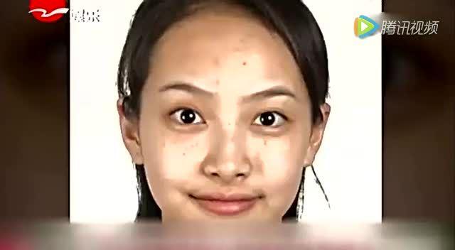 明星证件照曝光:宋茜满脸斑