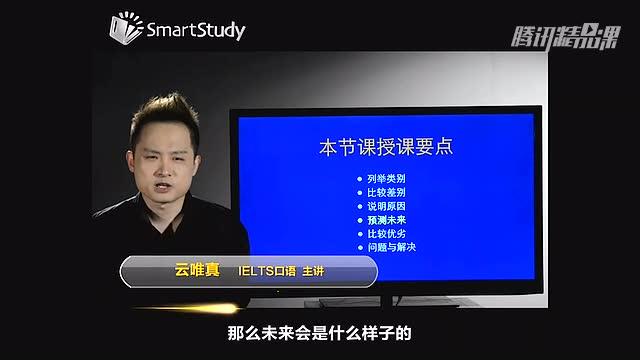 雅思口语课程-预测未来